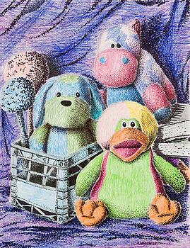 Jeanette K - Stuffed Toy Still Life
