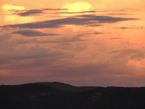 Stunning Evening Sky by Kyla Heath