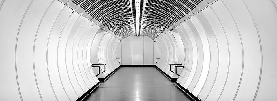 Subway Symmetry by Marc Huebner