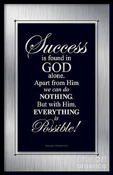 Success is found in God by Shevon Johnson