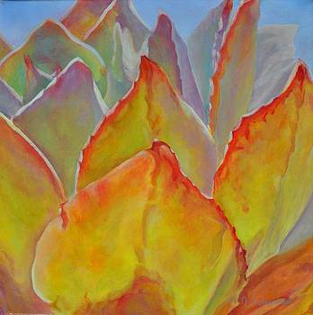 Succulent Rouge by Muriel Dolemieux