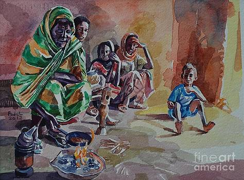 Sudanese coffee by Mohamed Fadul