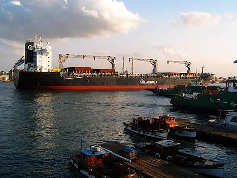 Suez Canal by Essam Ramadan
