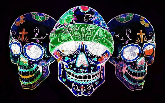 Sugar Skulls by Luis Padilla