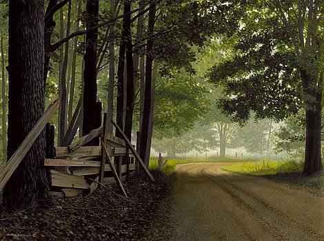 Sugarbush Road by Michael Swanson