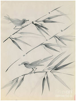 Sumi Birds by Valerie VanOrden