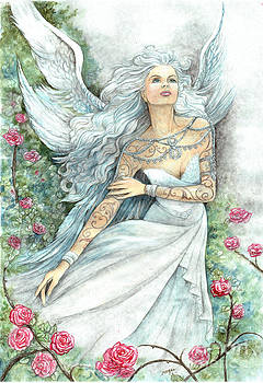 Summer Angel Spirit by Morgan Fitzsimons