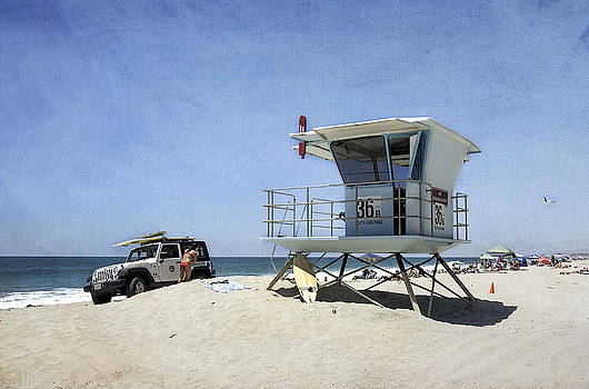 Summer at Tamarack Beach by Ann Patterson