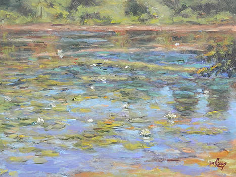 Summer at the Pond by Michael Camp