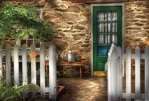 Mike Savad - Summer - Cottage - Cottage Side Door
