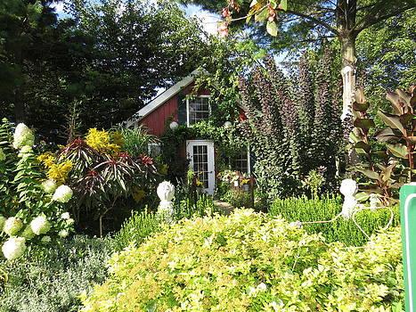 Summer Cottage by David Lankton