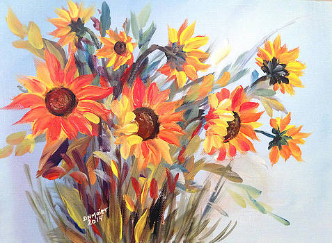 Summer Flowers by Dorothy Maier