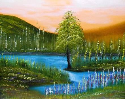 Summer Glow by John Minarcik
