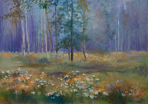 Summer in the forest by Natalia Bardi