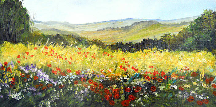 Summer Landscape Dream by Dorothy Maier