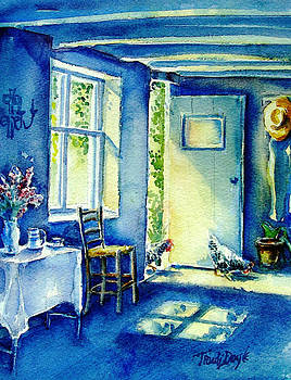 Summer Morning Visitors  by Trudi Doyle