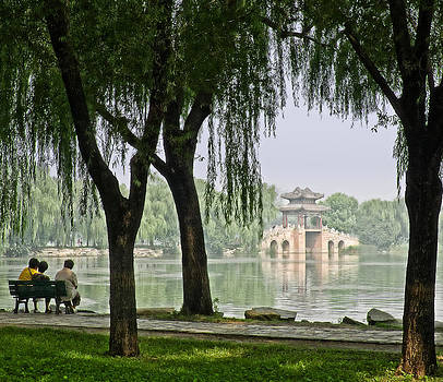 Summer Palace View by Bill Boehm