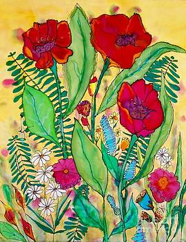 Summer Poppies by Vickie Scarlett-Fisher