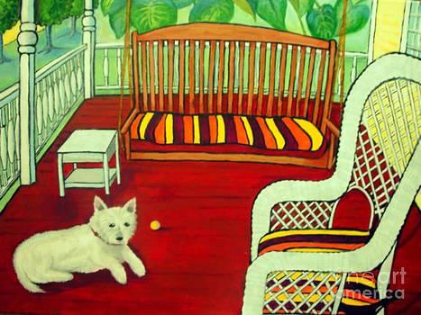 Summer Porch by Doreen Kirk