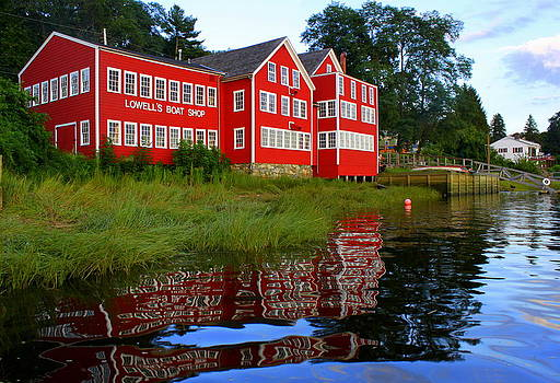 Summer Reflections at Lowell's by Suzanne DeGeorge