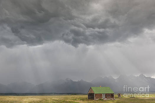 Sandra Bronstein - Summer Storm in the Tetons
