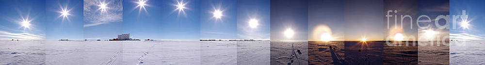 Science Source - Summer Sun In Antarctica