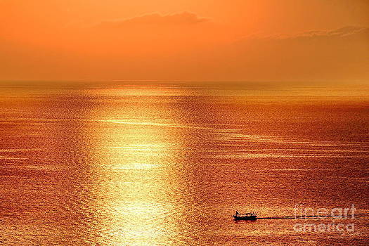 Summer Sunset by George Paris