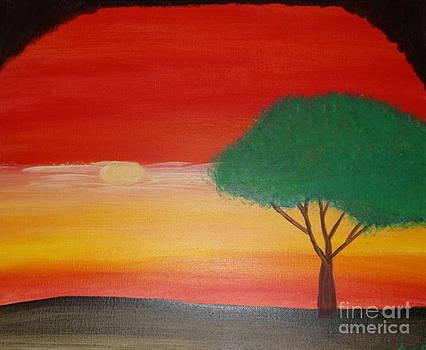 Summer Sunset by Krystal Jost