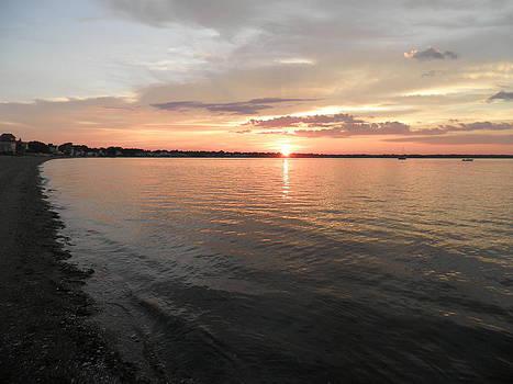 Kate Gallagher - Summer Sunset on Narragansett Bay