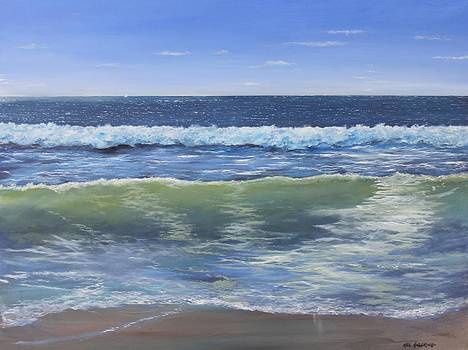 summer Surf by Ken Ahlering