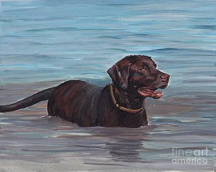 Summer Swim by Charlotte Yealey