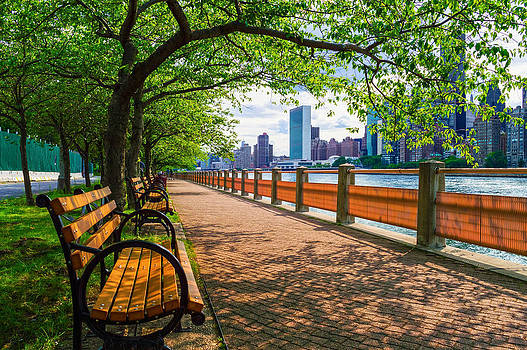 Summer View East River by Andrew Kazmierski