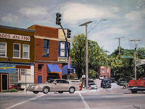 Summit St. and SW Boulevard by Patricio Lazen
