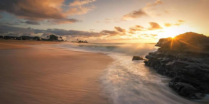 Sun and Sandy Beach by Hawaii  Fine Art Photography