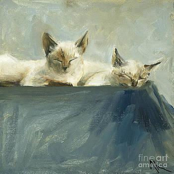 Sun Bathers by Alyson Kinkade