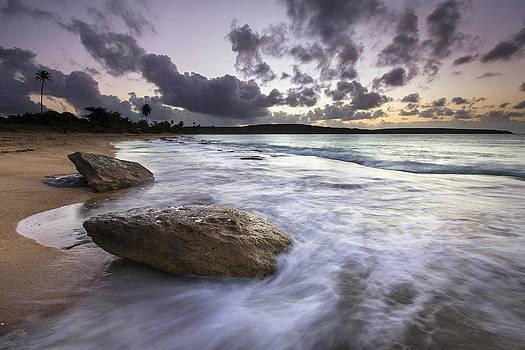 Sun Bay Seascape by Patrick Downey