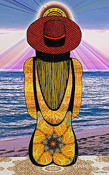 Sun Girl's Back by Joseph J Stevens