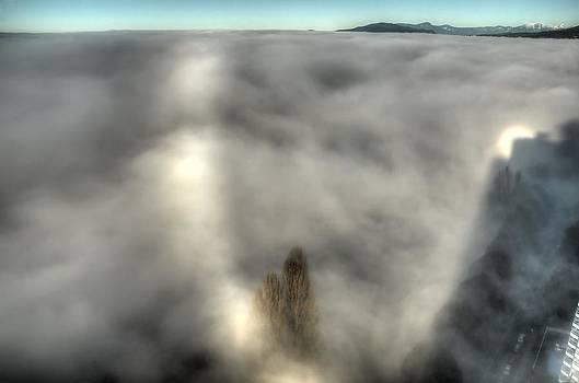 Sun Halo and Fog by Doug Farmer