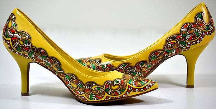 Sun-on-Shoes by  Deepti Mittal