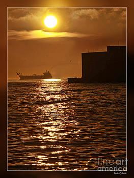 Blake Richards - Sun Rise Dock and Ship