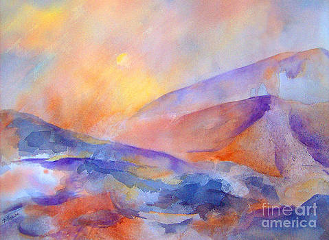 Sun Rising V by Betty Pinkston