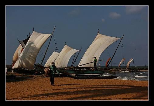 Sun Sea Sails and Sand by Ajithaa Edirimane