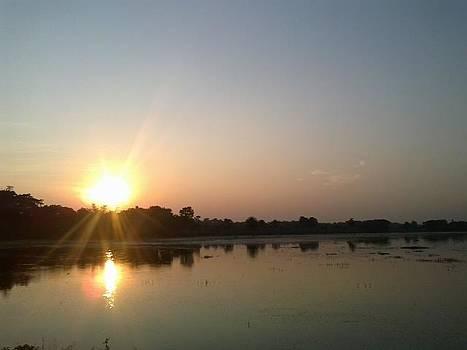 Sun Set by Md  Asaduzzaman