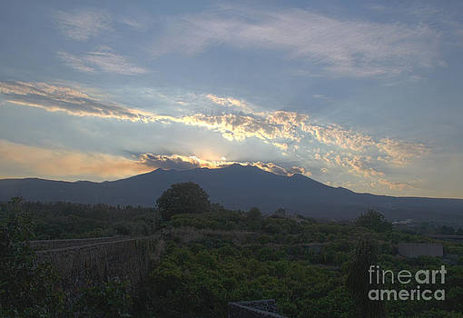 Adrienne Franklin - Sun Set Volcano