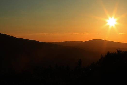 Karol Livote - Sun Sets Over Mount Battie