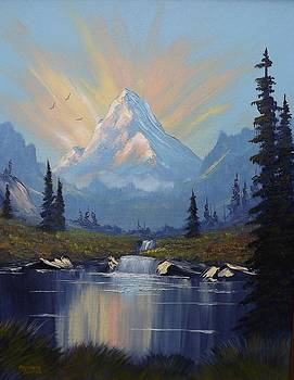 Sunburst Landscape by Richard Faulkner