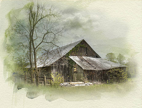 Sunday Drive Barn by Kathleen Holley