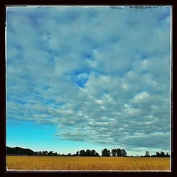 Sunday Morning #hoosierskies by Sandy MacGowan