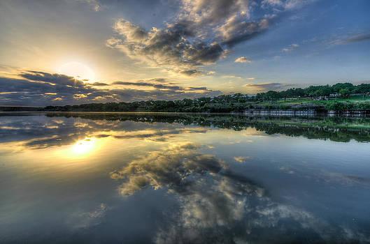 Sunday Sunrise by Jeffrey W Spencer