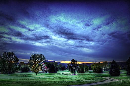 Barry Jones - Sundown Behind the Hills
